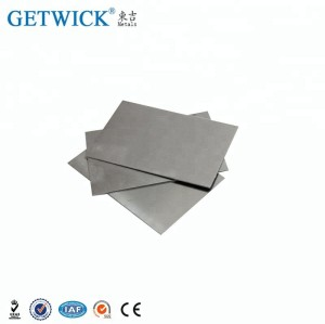 China Best 99.95% Pure Molybdenum Sheet Suppliers-GETWICK