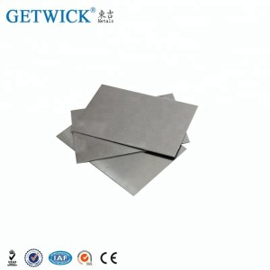 High precision tungsten nickel iron heavy alloy sheet for sale