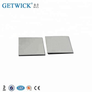 Stock of Purity 99.95% w1 tungsten plate