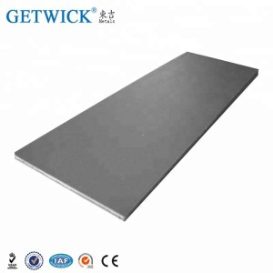 Annealed Pure 99.95% Tungsten Sheet T1.5*50mm*L