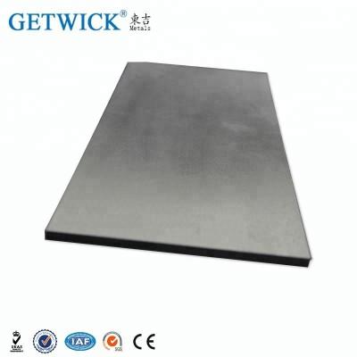 Placa dura de molibdênio polido para alvo de argila