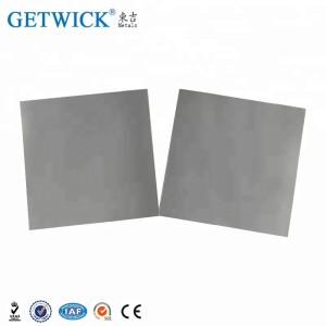 WNiFe Tungsten heavy alloy plate in stock