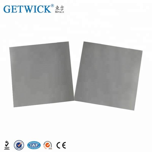 Molybdenum Sheet Plate Price Wholesale 99.95% High Purity Vacuum