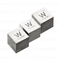 high density tungsten cube as weight balancing from GETWICK