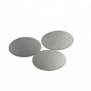 Thermal conductivity Tungsten Circular disc wafer through cutting