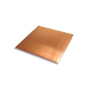 Custom made different size 100mm WCu copper tungsten sheet