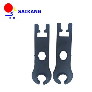 instrument black spanner male and female  PV use for screw down MC4 connector  easy to use
