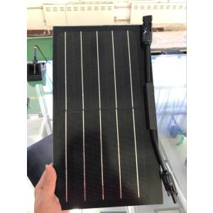 10W small solar panels two cells  high efficiency  tempered glass used on rooftop