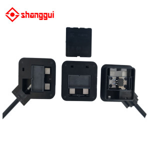 bipv junction box with MC4 connector+ cable suitable for BIPV solar panel