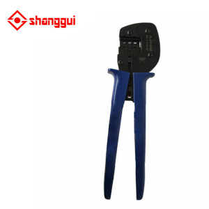 instrument of MC4 Solar Crimping Tool Kits for 2.5-6.0mm2 solar connectors,MC4+MC3 kits with test cable