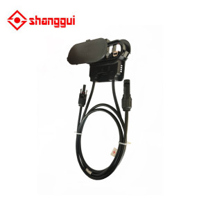 junction box with MC4 connector+ cable, suitable for solar panel 200w to 300w, solar junction box, pv junction box