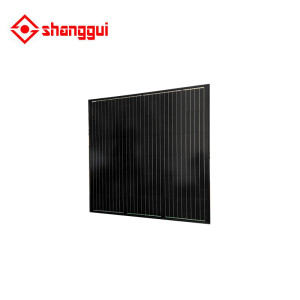 black solar panel 170 watt factory price