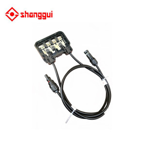 solar panel dc pv junction box for solar panel from 200w to 300w