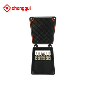 explosion-proof solar panel junction box  used in solar panel