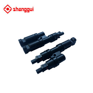 MC4 T Type Male Female Solar PV Adapter Connector