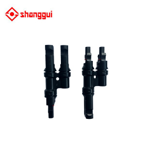 MC4 T Type Male Female Solar PV Adapter Connector for Solar Cell Panel