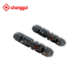 MC4 Male / Female Solar Panel Cable Connectors Waterproof Seal Ring Connector
