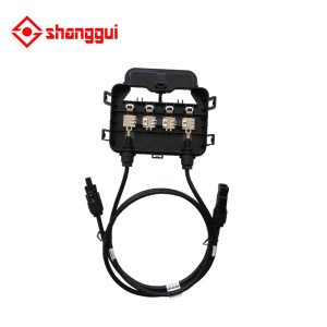 Solar Junction Box PV Connector with 4 Diodes for Solar Panel 200W-300W 10A