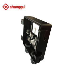 junction box for solar pv module 60w 80w 100w