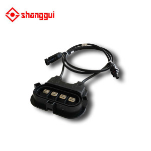 Solar Junction Box PV Connector with 3 diodes for 200w 300w solar jucntion box