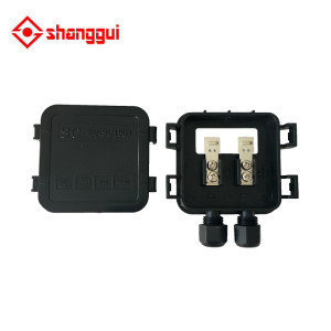 solar junction box for solar pv module 20w 30w manufacturers in china