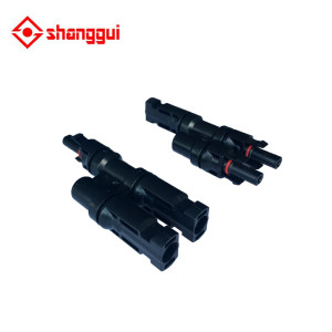 T Type Connector Male to Female MC4 Coupler IP67