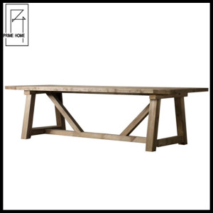 French country solid oak wooden dining table,dinning table set,dining coffee table