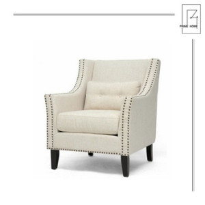 Guaranteed quality unique home furniture modern accent chairs,wood and fabric chairs