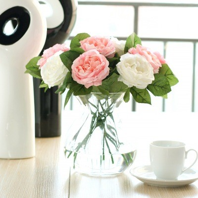 Night Rose Artificial Flower Export Artificial Flower Wholesale Home Wedding Decoration
