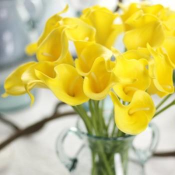 Mini Calla artificial flower Artificial plant home decoration AliExpress fake flowers