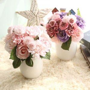 Rose Dahlia Bouquet Artificial Flower Export Artificial flowers Export Wedding Home Decorations