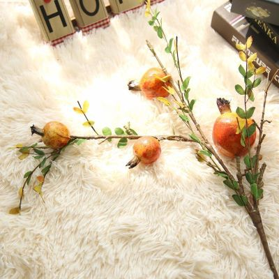 Artificial Pomegranate Fruit Home Décor Wedding Decor