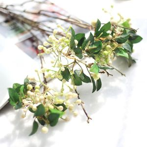 Artificial berry bouquet with branches Fake Flower Home Decor Wedding Decor Christmas Decor