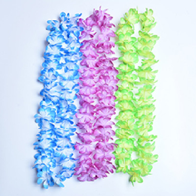 Hawaiian Flower Garlands Leis Garland for Luau Parties