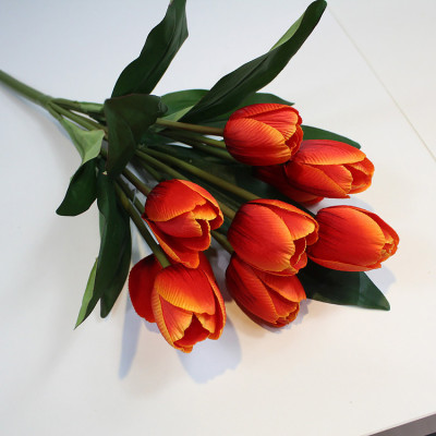 RESUP Artificial Tulip Bouquet 9-Heads 40cm Tall
