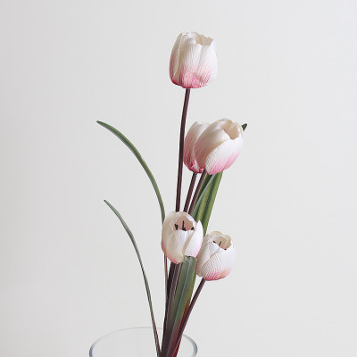 RESUP Artificial Tulip Bouquet 5-Heads 100cm Tall
