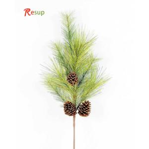 RESUP Artificial Pine Needle & Plastic Pine Cone 34''