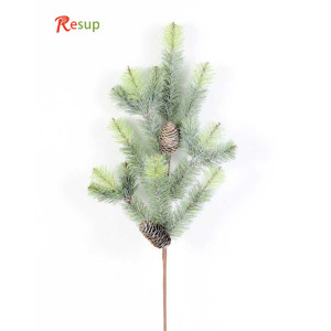 RESUP Artificial Pine Needle & Plastic Pine Cone 28''