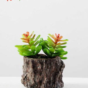 RESUP ARTIFICIAL SUCCULENT POTTED