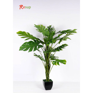 RESUP ARTIFICIAL MONSTERA TREE IN POT 150cm Tall