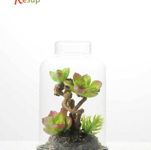 RESUP Artificial Desert Plant in Grass Pot 15cm Tall