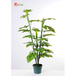 RESUP Artificial Monstera in Pot 110cm Tall
