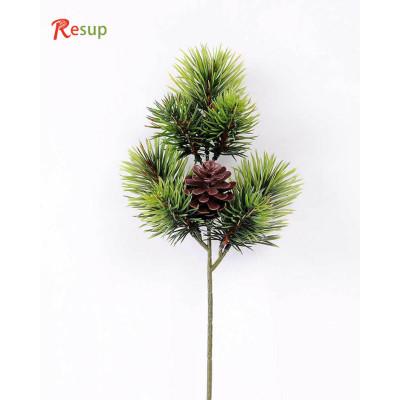 RESUP Artificial Pine Needle & Plastic Pine Cone 38cm Tall