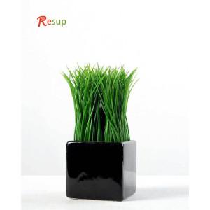 RESUP ARTIFICIAL GRASS IN CERAMIC POT 6'' Tall