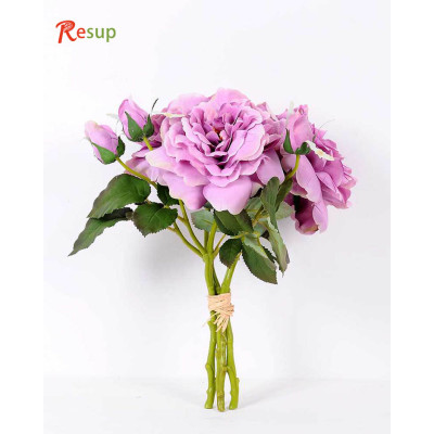 RESUP Artificial ROSE BUSH 33cm Tall