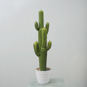 RESUP Artificial Prickly Cactus bonsai in Plastic Pot 01362 31.6'' Tall High Quality Artificial Cactus China Factory China Wholesaler