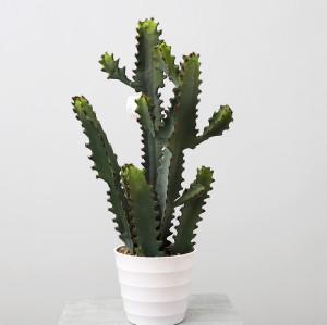 RESUP Artificial Prickly Cactus bonsai in Plastic Pot 01362 31.6'' Tall Big Artificial Cactus China Factory China Wholesaler