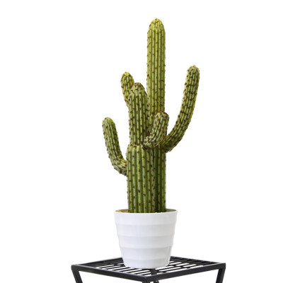 RESUP Artificial Cactus Potted for Home Decoration 0137 33.6'' Tall Artificial Cactus in Pot Wholesale China Factory