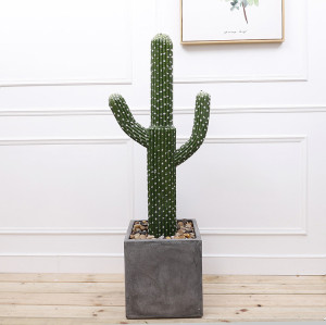 RESUP Artificial Cactus in Pot for Home Decoration 0144 69.2'' Tall Indoor Cactus Plants Wholesale China Factory