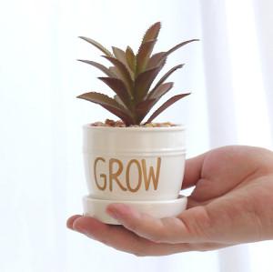 RESUP Artificial Cactus in Ceramic Pot for Home Decor 0278 Faux Cactus Instagram